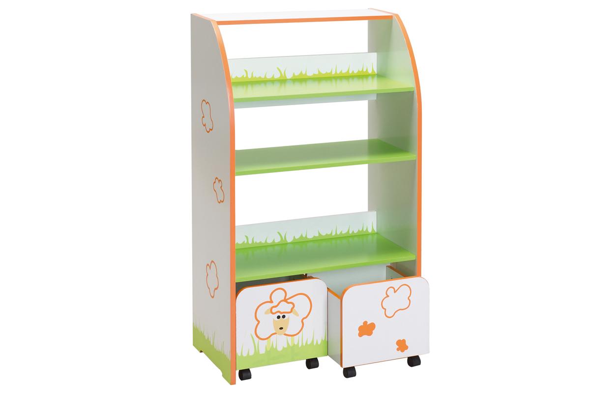 regal curley f r kinder kinderregal kinderschrank. Black Bedroom Furniture Sets. Home Design Ideas