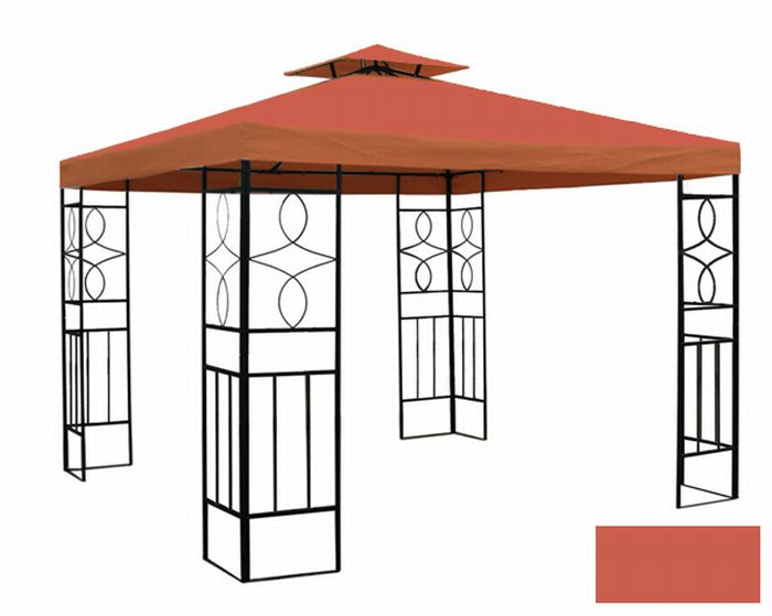pavillon romantika mit wasserdicht dach farbwahl festzelt garten partyzelt neu ebay. Black Bedroom Furniture Sets. Home Design Ideas