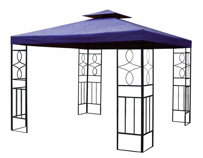 pavillondach ca 3x3m hi dach wasserdicht wasserfest pavillon ersatzdach pvc ebay. Black Bedroom Furniture Sets. Home Design Ideas