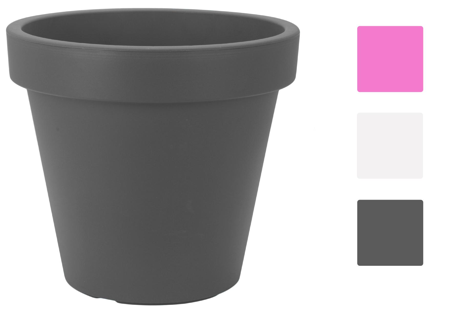 xxl pflanzkuebel pflanztopf blumentopf blumenkuebel kunststoff 60cm pflanzschale ebay. Black Bedroom Furniture Sets. Home Design Ideas